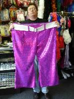 Big Purple Custom Made Pants